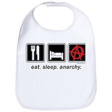 Eat. Sleep. Anarchy. Bib