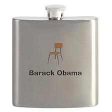 Barack Obama Chair Flask