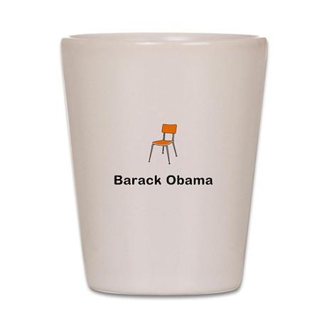 Barack Obama Chair Shot Glass