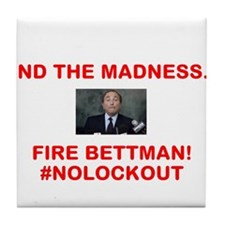 FIRE BETTMAN Tile Coaster