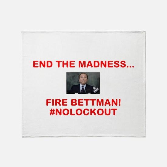 FIRE BETTMAN Throw Blanket