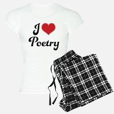 I Love Poetry Pajamas