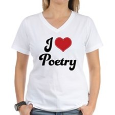 I Love Poetry Shirt