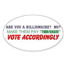 VOTE ACCORDINGLY Decal