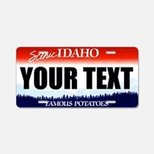 Idaho Custom License Plate