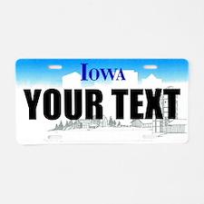 Iowa Custom License Plate