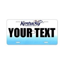 Kentucky Custom License Plate