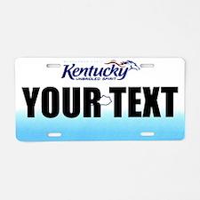 Kentucky Custom License Plate