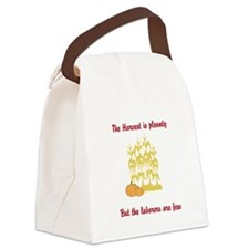 The Harvest Canvas Lunch Bag