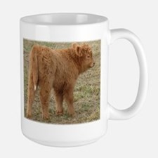 Little White Tail Large Mug
