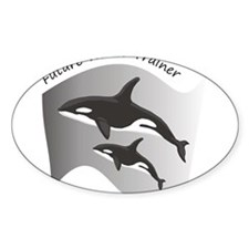 Future Whale Trainer Rectangle Decal