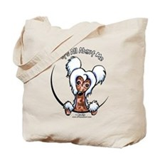 Chinese Crested IAAM Tote Bag