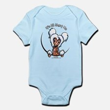 Chinese Crested IAAM Infant Bodysuit