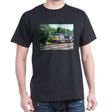 CSX Q190 Doublestack Train Ash Grey T-Shirt T-Shir