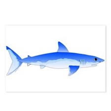Shortfin Mako Shark Postcards (Package of 8)