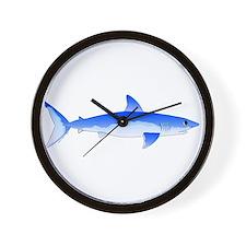 Shortfin Mako Shark Wall Clock