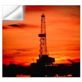 Oil rig Wall Decals