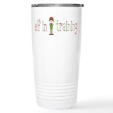 Elf in Training Travel Mug