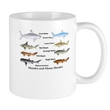 Sharks and More Sharks Montage Mug