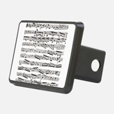 Music notes Hitch Cover