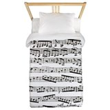 Music note Twin Duvet Covers