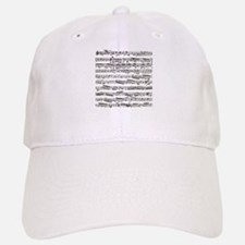 Music notes Baseball Baseball Cap