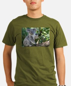 Cute koala Organic Men's T-Shirt (dark)