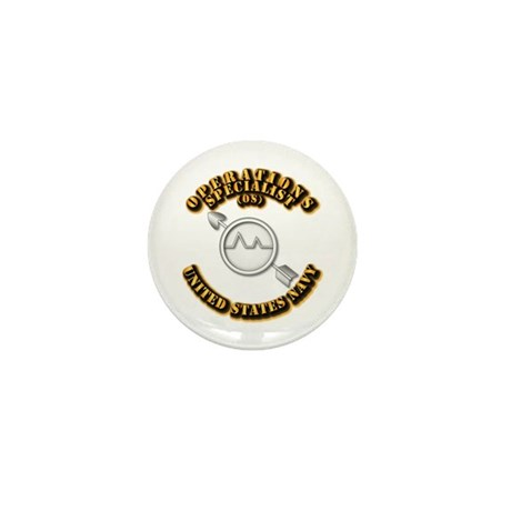 Navy - Rate - OS Mini Button (10 pack)