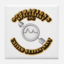 Navy - Rate - OS Tile Coaster