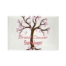 Breast Cancer Survivor Rectangle Magnet