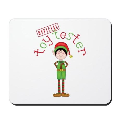 Official Toy Tester Mousepad