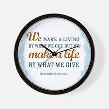 Make a Life Wall Clock