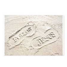 Sandy Footprints Postcards (Package of 8)