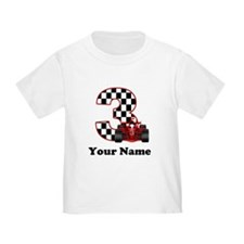 3rd Birthday Race Car T