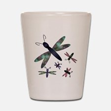 Dragonflies.png Shot Glass