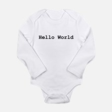 Hello World Infant Creeper Body Suit