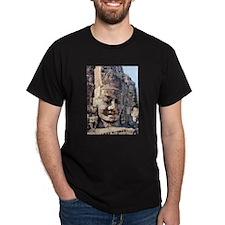 Stone Buddha Bayon Crematorium T-Shirt
