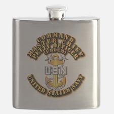 Navy - Rank - CMDCM Flask