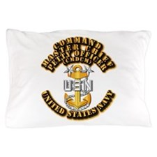Navy - Rank - CMDCM Pillow Case