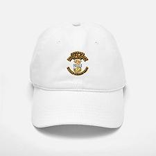 Navy - Rank - CMDCM Baseball Baseball Cap