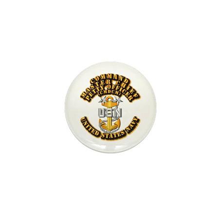 Navy - Rank - CMDCM Mini Button (10 pack)