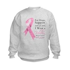 For Hope Cure Breast Cancer Sweatshirt