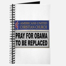 OBAMA PRAYER Journal
