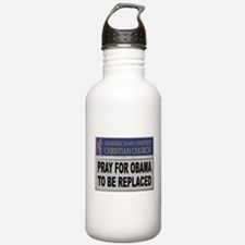 OBAMA PRAYER Water Bottle