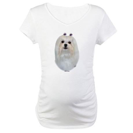 Maltese 9K041D-12 Maternity T-Shirt