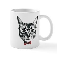 Cat with glasses Mug