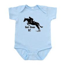 Get Over It! Horse Jumper Infant Bodysuit
