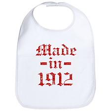 Made In 1912 Bib