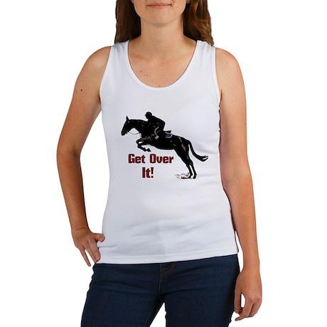 Get Over It! Horse Jumper Women's Tank Top
