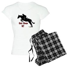 Get Over It! Horse Jumper Pajamas